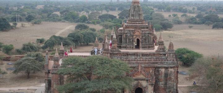 Sonnenuntergänge in Bagan