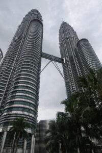 Petrona Towers von vorne