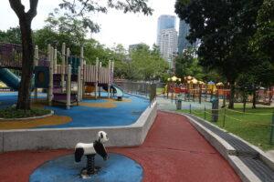 Spielplatz im KLCC Park