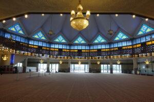 Nationale Moschee - Gebetshalle
