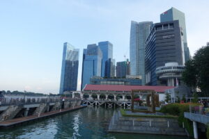 Skyline von der Promenade