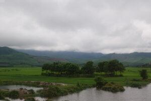 Aussicht zwischen Hue und Hoi An