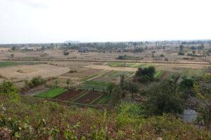 Aussicht um Phnom Chhnork