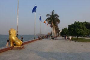 Phnom Penh Uferpromenade