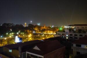 Nächtliches Phnom Penh