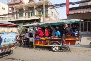 So wird ein Tuktuk befüllt!