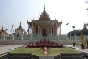 Königspalast Phnom Penh - Modell von Angkor Wat